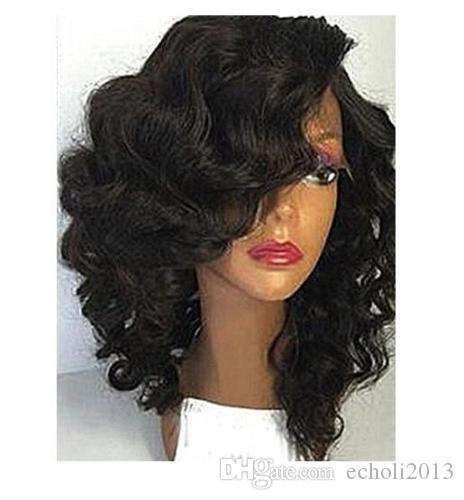 Ön Koparıp 360 peruk, 150% yoğunluk bakire kısa kıvırcık İnsan saç beyaz dantel için doğal saç çizgisi ile 360 dantel frontal peruk