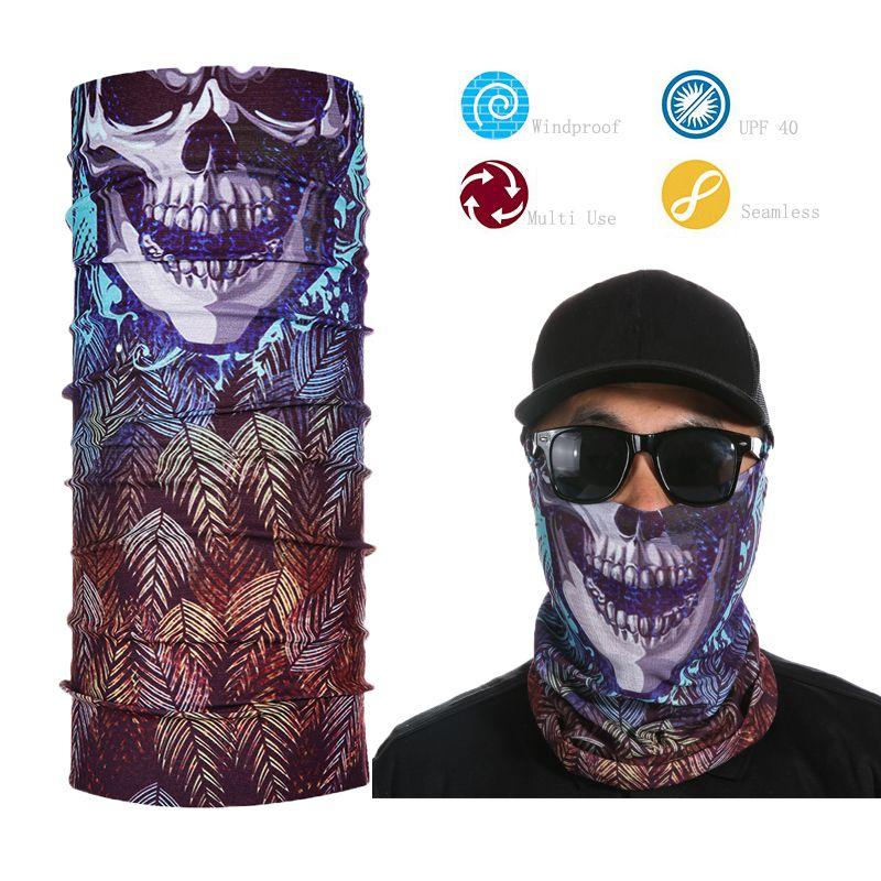 Wholesale Tactical Headwear Seamless Skull Face Shield Multi Purpose  Bandana Wholesale Scarves Pashmina Scarves From Juaner 1fec8f415d96