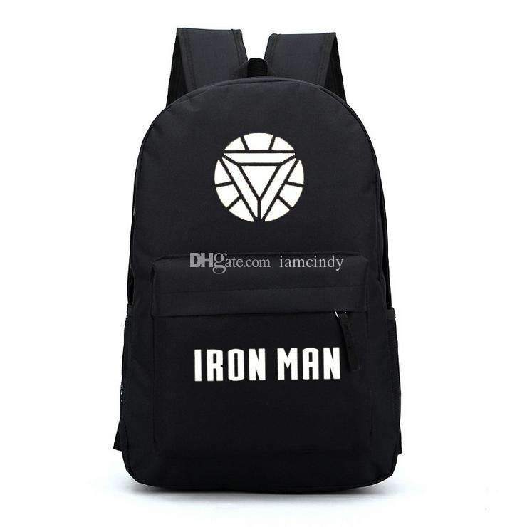 Iron Man Backpacks For Teenage Boys Girls Heros School Bags Backpacks Cool  For Kids Middle School Backpacker Rucksack School Bags For Kids From  Iamcindy, ... e8d73abcc3