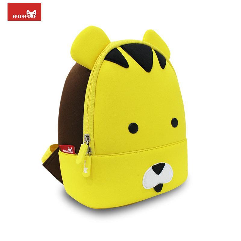 Nohoo Yellow Tiger Waterproof Backpack Animal School Bag For Kids ...