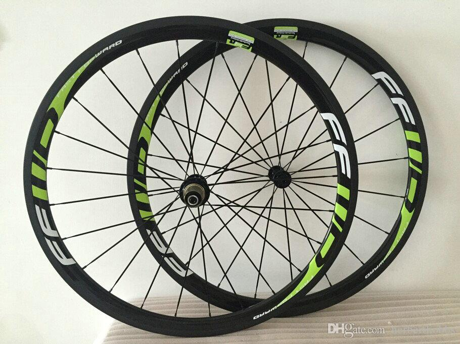 38mm Road Bicycle Wheels Ffwd Carbon 700C 23mm Wider Carbon Fiber Wheels Tubular Road Bike Wheelset