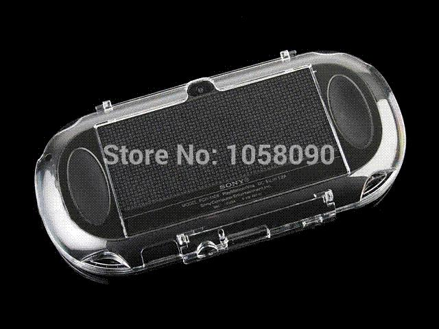 High Quality Crystal Shell Clear Case Cover for PS Vita Hard Case for PSV  ita 1000 Crystal Protective Shell, Free Shipping