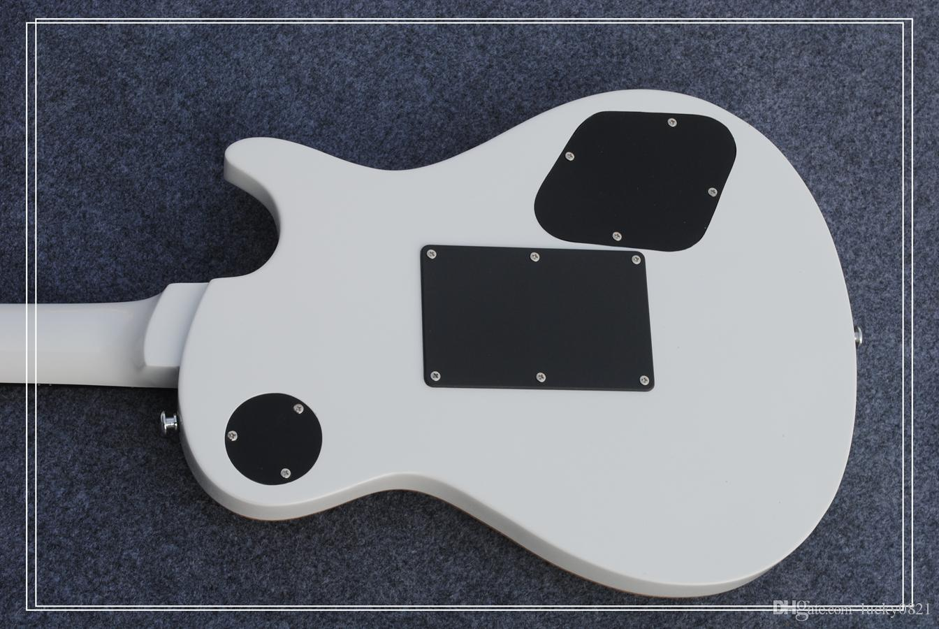 Custom Left Hand Electric Guitar IN White Best Selling OEM Guitar