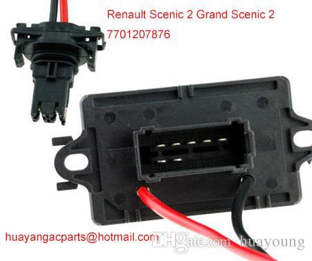 Resistor do ventilador do motor do calefator ROSOSTAT Renault Scenic 2 Grand Scenic 2 2004-2009 7701207876
