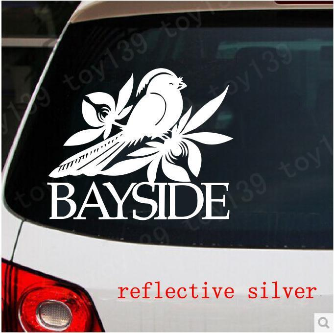 Bayside band logo laptop truck funny goodlooking car decal vinyl sticker wall funny stickers reflective silver car decal sticker car sticker online with
