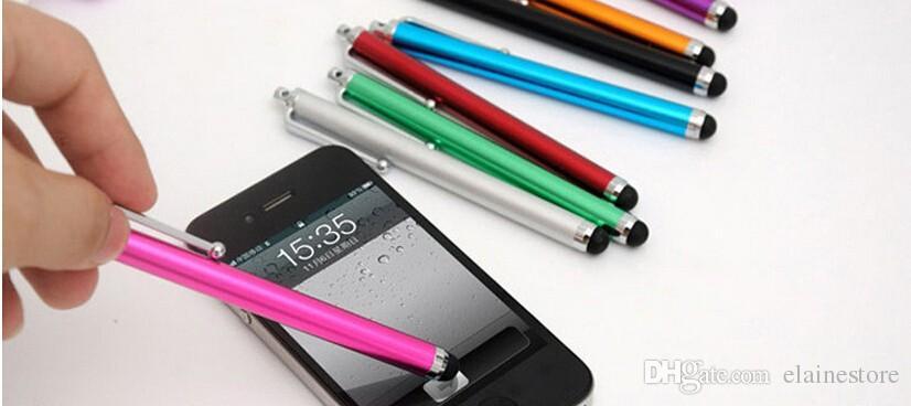 Universal Stylus Pen kapazitiver Touchscreen für Telefon Tablet iPod iPad iPhone 5 5S 6 6 Plus Fabrik Großhandel günstigen Preis