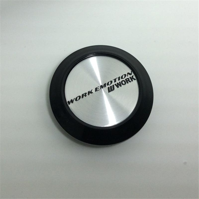 64mm Car Wheel Center Caps for Work EMOTION CR ULTIMATE XD-9 XT-7 XC-8 11R-FT and 11R