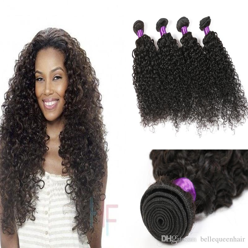 Belle Queen Hair Products Grade 8a Brazilian Kinky Curly Hair