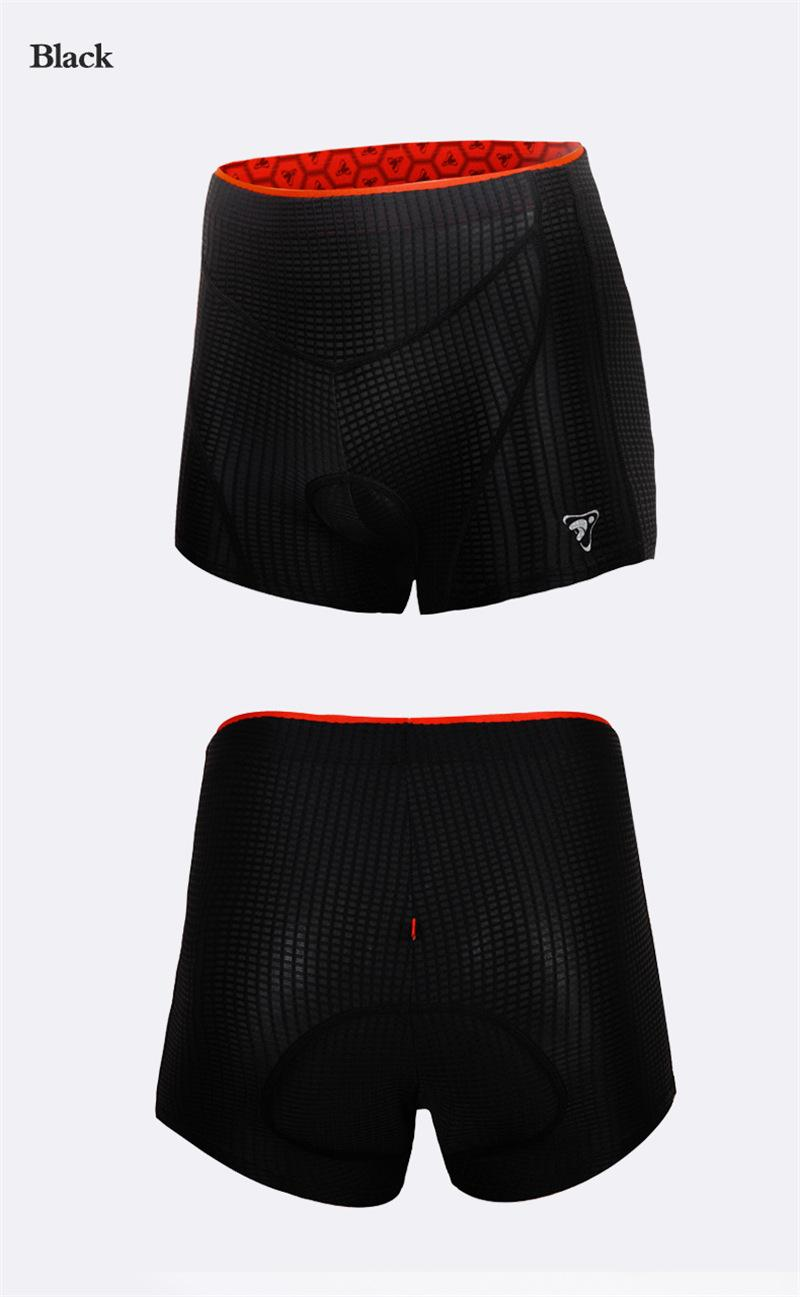 Tasdan Bisiklet Iç Çamaşırı Özel Bisiklet Giyim Önlükler Womens Bisiklet Bisiklet Rahat Iç Çamaşırı Jel 3D Coolmax Yastıklı Bisiklet Kısa Pantolon