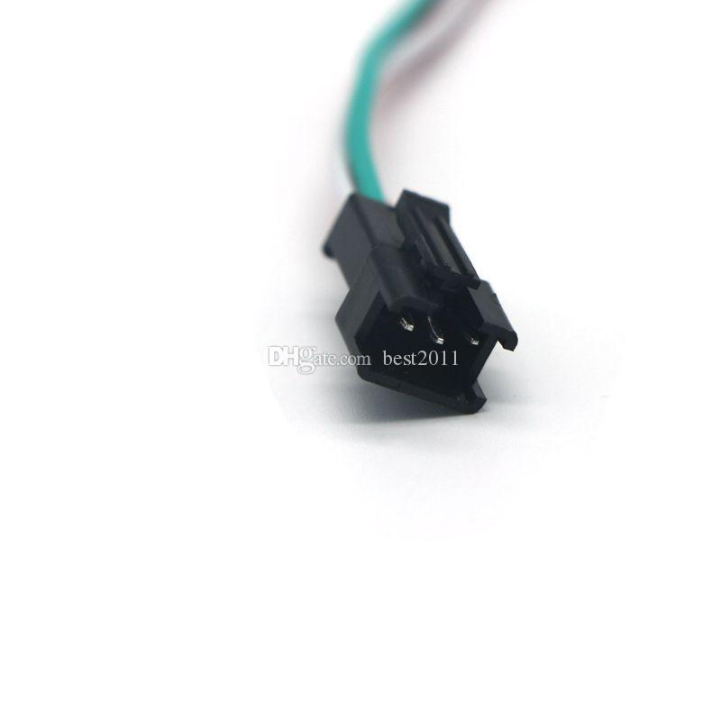 5050 WS2811 WS2812b 꿈 색깔 LED 빛 지구를위한 다채로운지도 된 DC5V-24V 소형 RGB 3key LED 관제사
