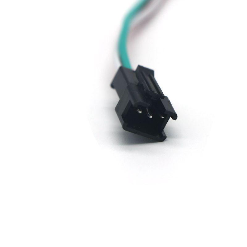 Colorful Led DC5V-24V Mini RGB 3key LED Controller For 5050 WS2811 WS2812b Dream Color LED Light Strip