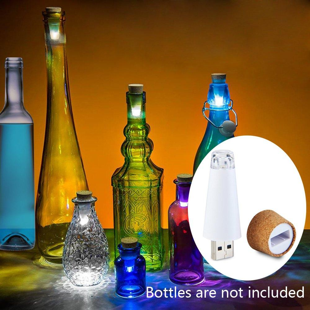Best Usb Power Wine Bottle Light Rechargeable