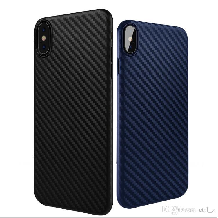 iphone 10 cases. cool ultra slim case for iphone x 10 8 7 6s plus phone back cover fashion carbon fiber soft silicone cases cell covers from s
