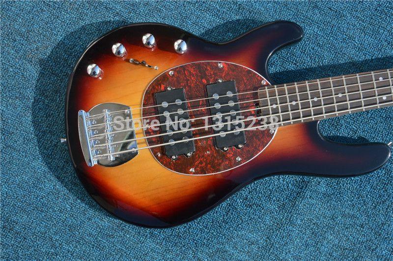 New guitarraOEM electric guitar bass guitar shop multicolor left hand five string guitarra / guitar China