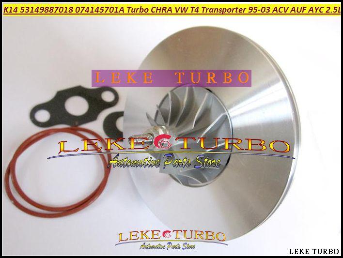 K14 53149887018 53149707018 074145701A Turbocharger Cartridge CHRA Turbo For Volkswagen VW T4 Transporter 1995-03 ACV AUF AYC 2.5L TDI (4)