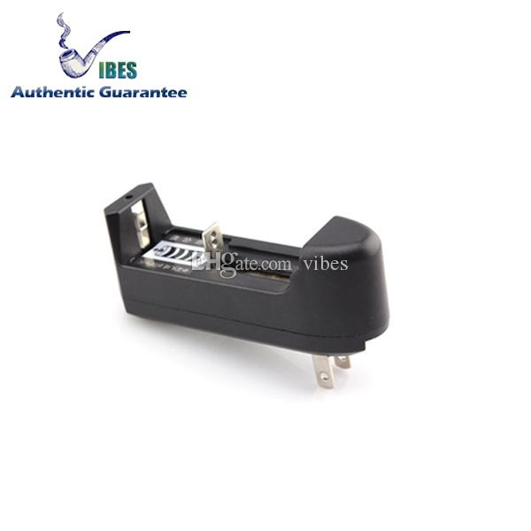 18650 Battery Charger Single Lithium Batteries Charger Fit Samsung 25R LG HG2 HE4 HE2 MNKE Ultrafire 26650 Lithium Batteries