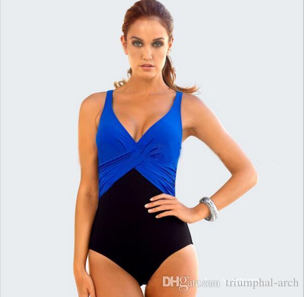 2016 горячий плавать одежда боди пляжная одежда купальный костюм треугольник нижней высокой талией плюс размер купальники женщины M~4XL