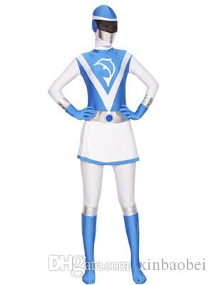 Foreign shipping blending animation Lycra Spandex Zentai leotard adult child tights tights Halloween costume props performance Cosplay