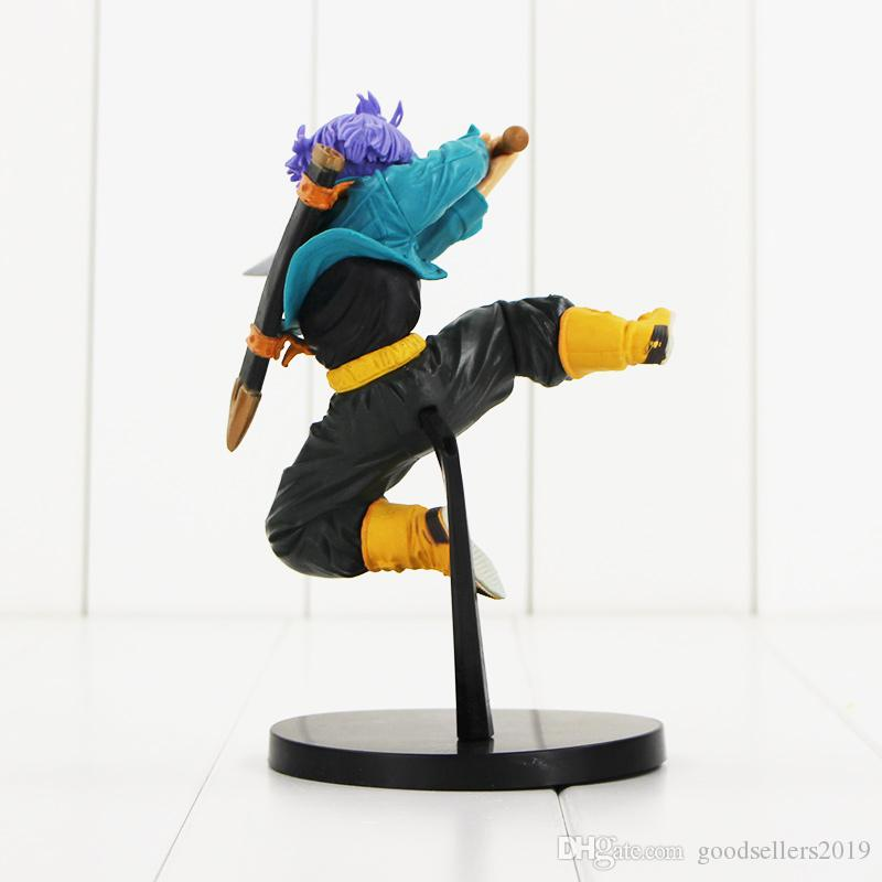 New arrival 17cm DXF Anime Dragon Ball Z Trunks PVC Action Figure Doll Toy
