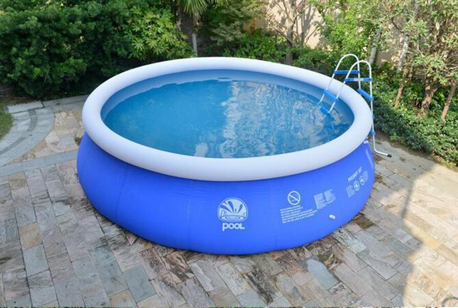 2.44 * 0.66m summer inflatable pool home thickening large outdoor adult  children swimming pool support wholesale