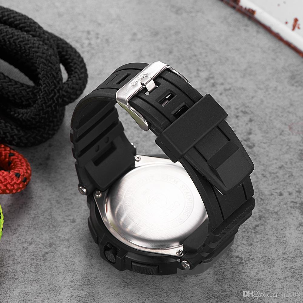NEW Fashion OHSEN Digital Watch Men Relogios Stopwatch Sport Watch Men Rubber Band LED Date Day Display Electronic Wrsit Watches