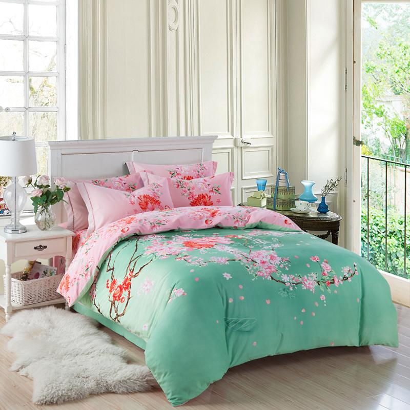 Exotic Bedding Sets 100% Brushed Cotton Oriental Bedding Set Queen King Size Exotic .
