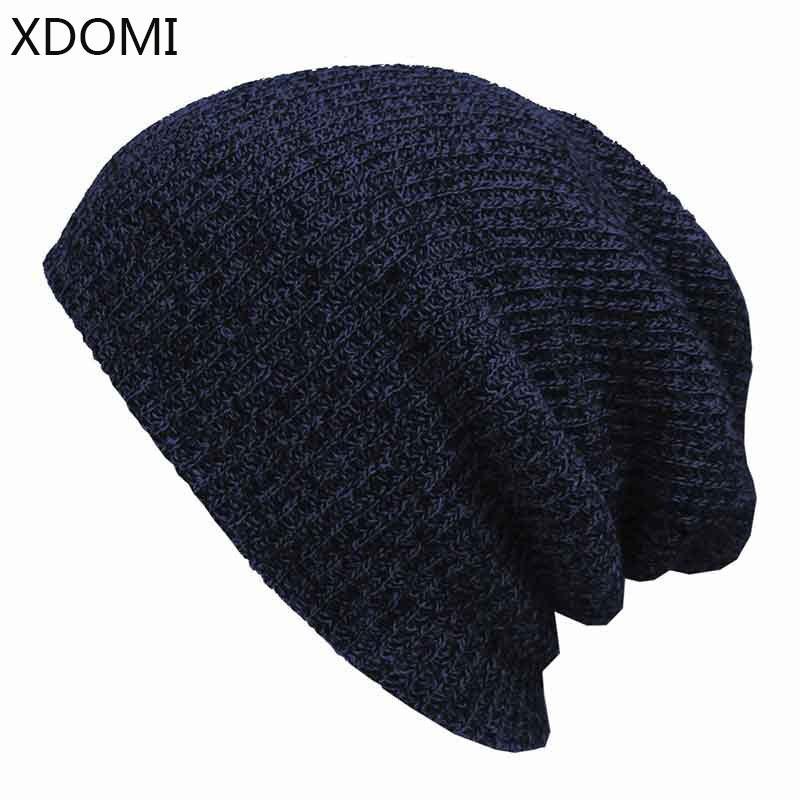 Winter Beanies Solid Color Hat Unisex Plain Warm Soft Beanie Skull ... dcb95fcb2683