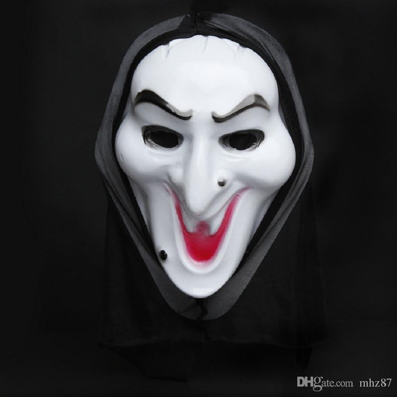 Horror Maschera di Halloween Destinazione finale Serie di film Maschere spaventose Cosplay Masquerade Prop Full Face Anonymous Masque LH1278