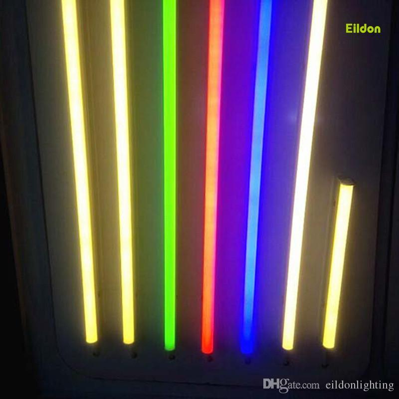 Acquista T5 Led Tubi Colore Luci 4ft 3ft 2ft Integrato 9 18w Ac85