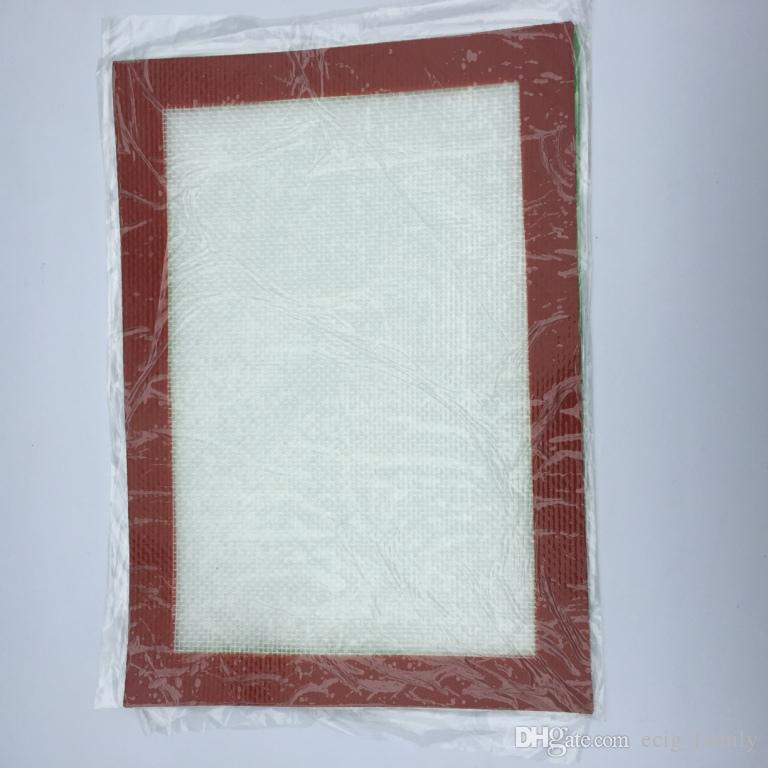 Tampons de cire de silicone tapis d'herbes sèches carrés tapis de cuisson de qualité alimentaire feuilles de dabber bocaux outil vaporisateur