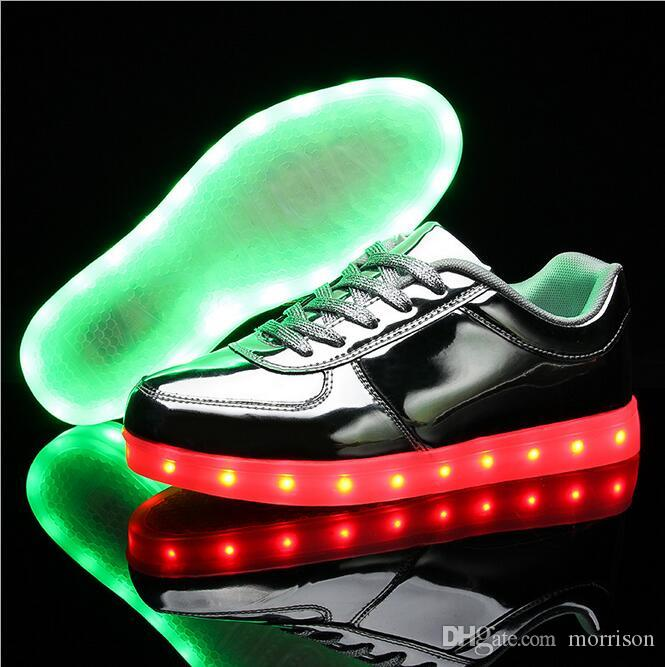 51c7d333e41c9 Hot Sale! Women Shoes Led Shoes for Adults Zapatos Mujer Led Shoes ...