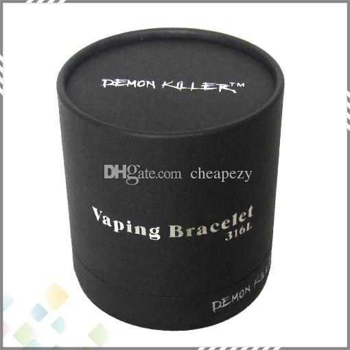 Demon Killer Vaper Bracelet Awesome Cigarette Electronique Accessoire Meilleur Design Cool fit Vaping 316 L Argent Couleur 100% À la Main DHL Gratuit