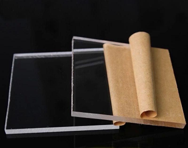 Compre 4mm * 200mm * 300mm Transparente Acrílico Claro Plexiglás ...