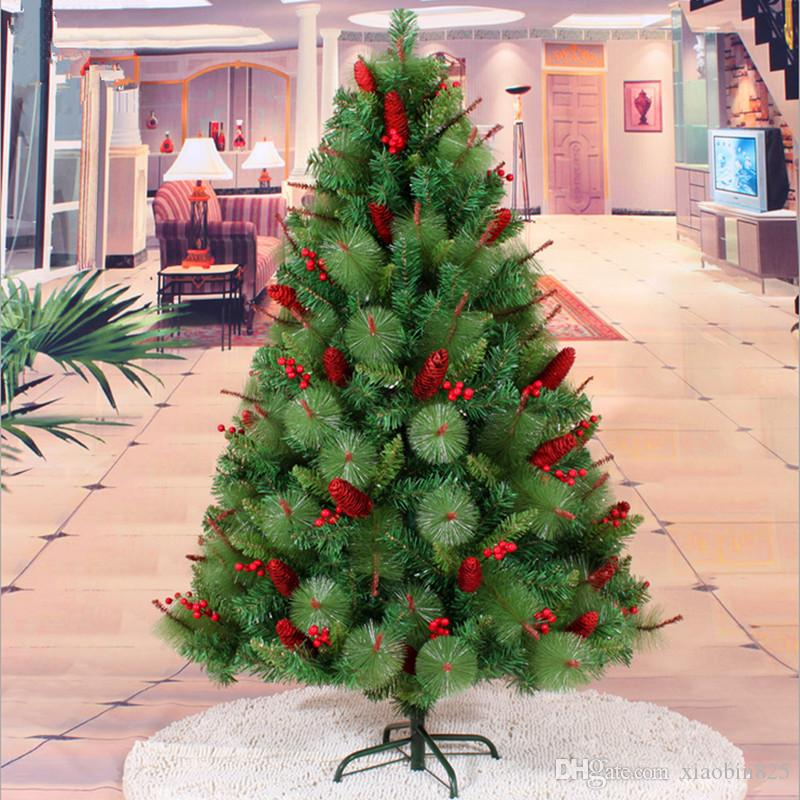 15 m 150cm red berries pinecone christmas tree decoration factory outlets mall christmas decoration christmas table decoration christmas table - Christmas Decorations Factory Outlet