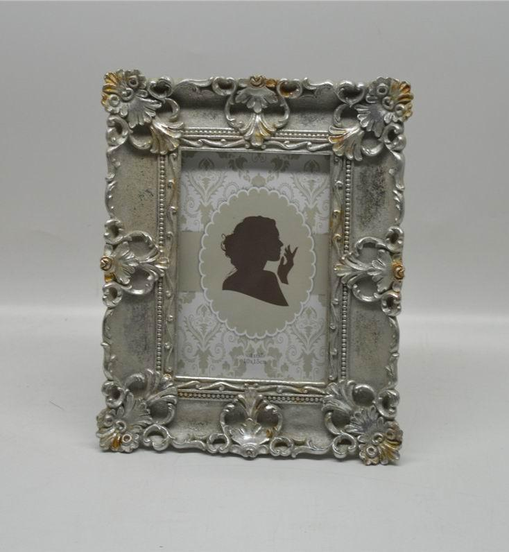 4x6 And 5x7 Kate Silver Antique Finish Picture Frames Rectangle ...