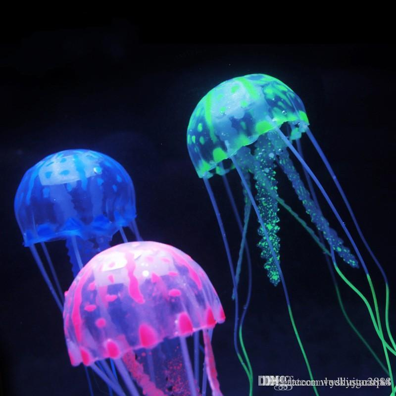 Jelly Fish Lamp Jellyfish Lamp With Simulated Ocean Background