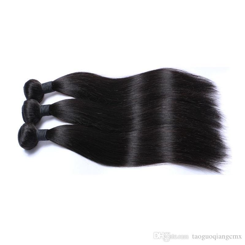 Büyük Satış Brezilyalı Hint Perulu Malezya Işlenmemiş en çok satan remy saç En kaliteli Doğal renk Brezilyalı Bakire saç uzantıları