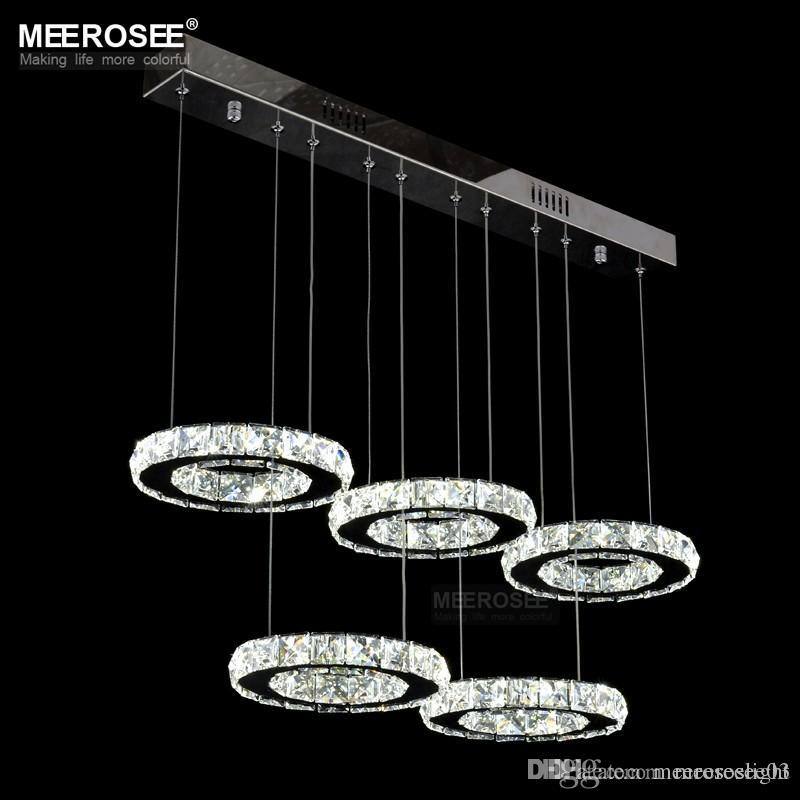 Modern chrome chandelier crystals diamond ring led lamp circle modern chrome chandelier crystals diamond ring led lamp circle stainless steel hanging light fixtures lighting led lustres modern chandelier lighting aloadofball Choice Image