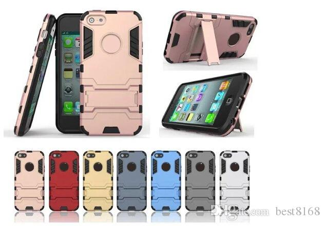 Custodia antiurto ibrida Ironman 2 in 1 per Iphone 11 2019 XR XS MAX X 10 8 7 Plus 6S 5 5S Note 9 Note9 S9 Hard PC + Soft TPU Iron man Cover