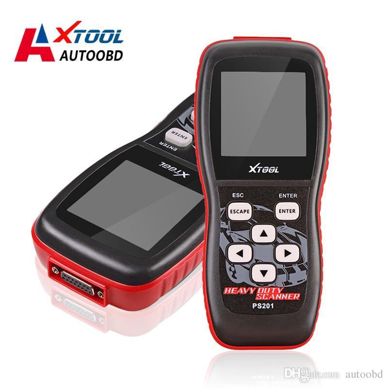 Xtool PS201 Heavy Duty Code Reader Diesel OBD2 Scanner 2016 High Quality  Original Professional Engine Diagnostic Tool Free Shipping