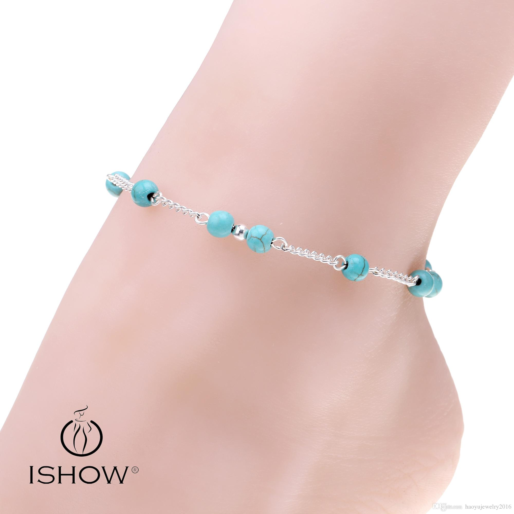 for girls and silver ethnic polished anklet payal pin anklets ladies gemstone