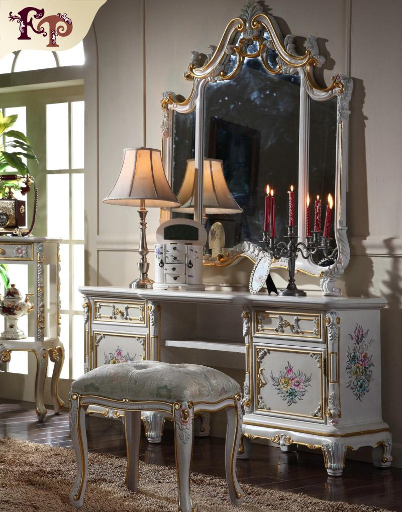 french bedroom sets. 2018 European Palace Classic Furniture Luxury French Royalty Bedroom  Set Cracking Paint Dressing Table And Mirror From Fpfurniturecn