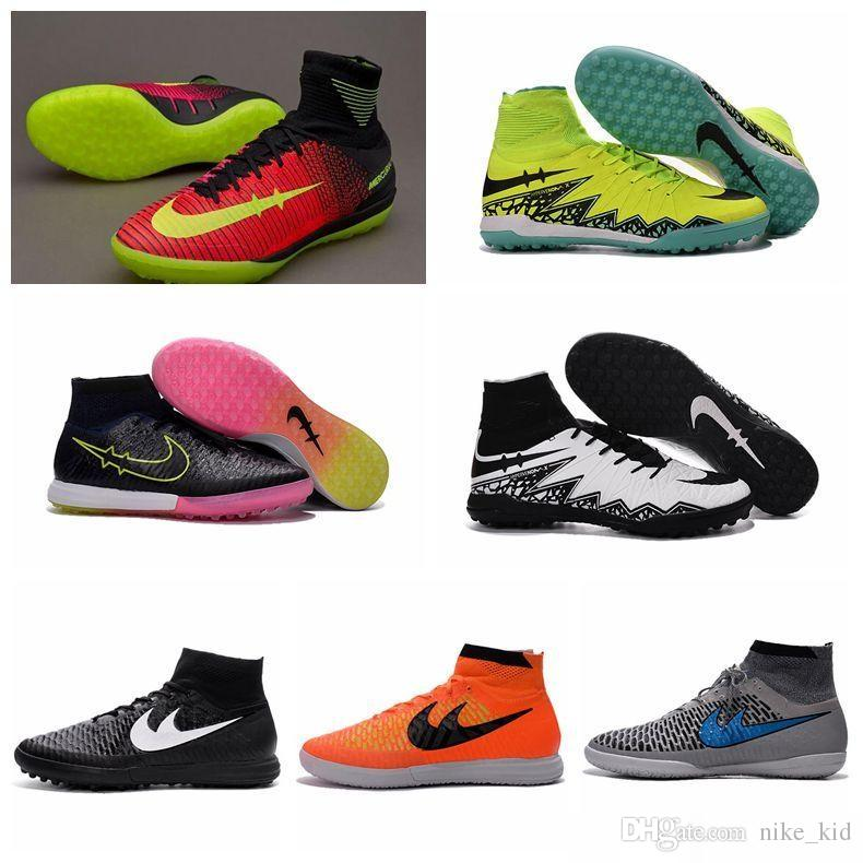 4004179d2f8e MagistaX Proximo IC TF Kids Women Futsal Soccer Boots New Mercurial Soccer  Cleats Hypervenom Phantom II High Ankle Indoor Soccer Shoes Running  Trainers For ...