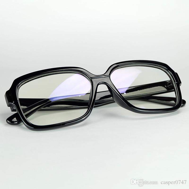 Wholesale Pure Rectangle Big Frame Geek Eyewear With Clear Lenses ...