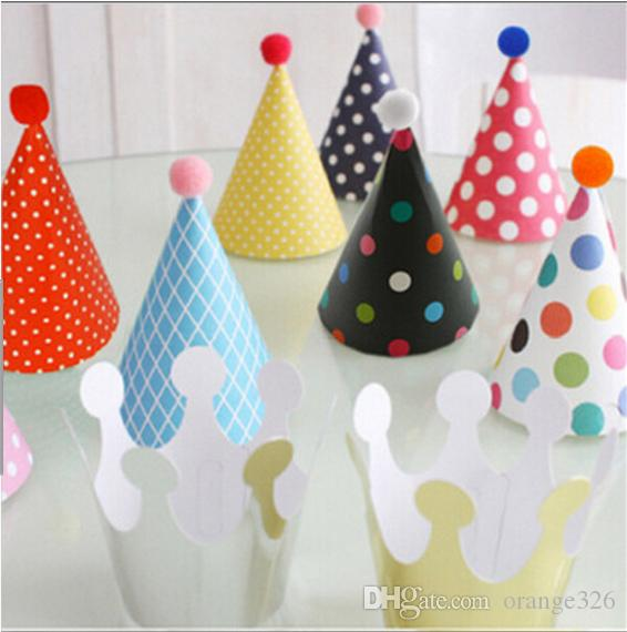 party hat set pack of birthday party crowns hats party celebration