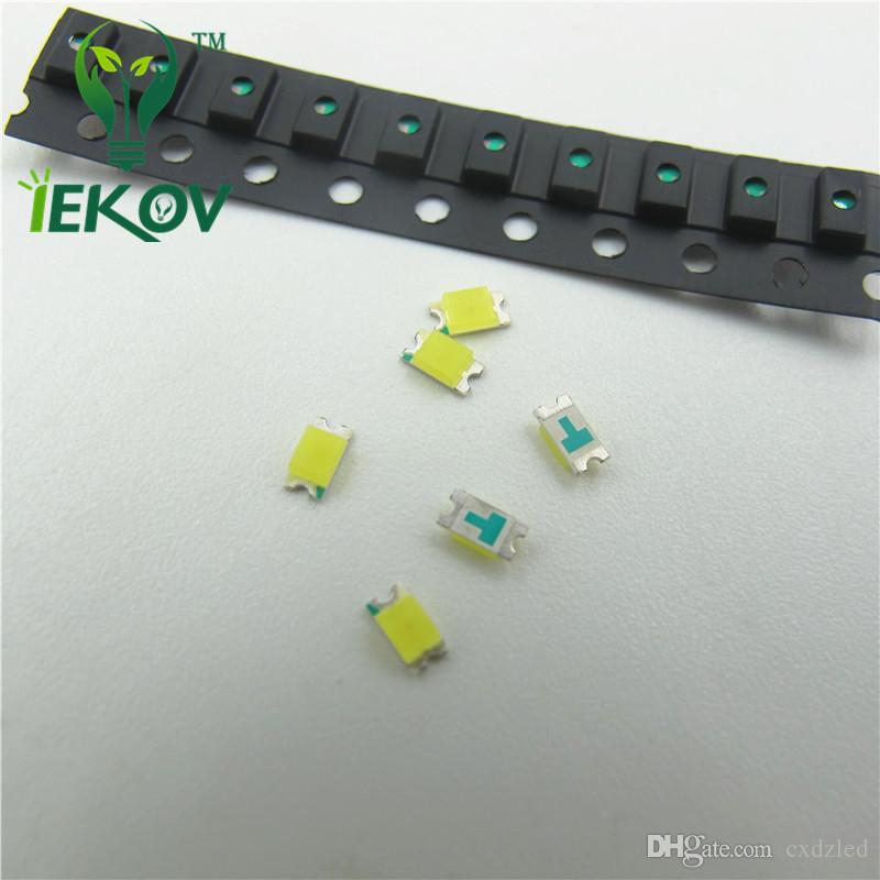 SMD/SMT 1206 Green Led 3.0-3.2V 520-530nm Super Bright Light Diode DIY High Quality SMD Chip lamp beads Wholesale Retail
