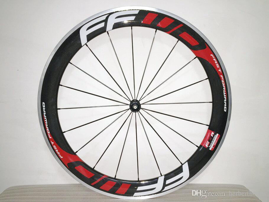 FFWD 프론트 60mm + 리어 88mm 빨리 감기 합금 도로 자전거 Wheelset Carbon Clincher No Logo Wheelset