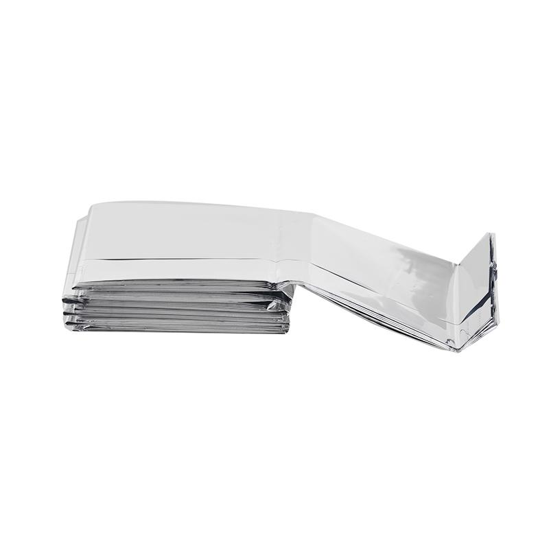 210*130cm Outdoor Sport Climbers Life-saving Military Emergency Blanket Survival Rescue Insulation Curtain Blanket Silver New 2501040