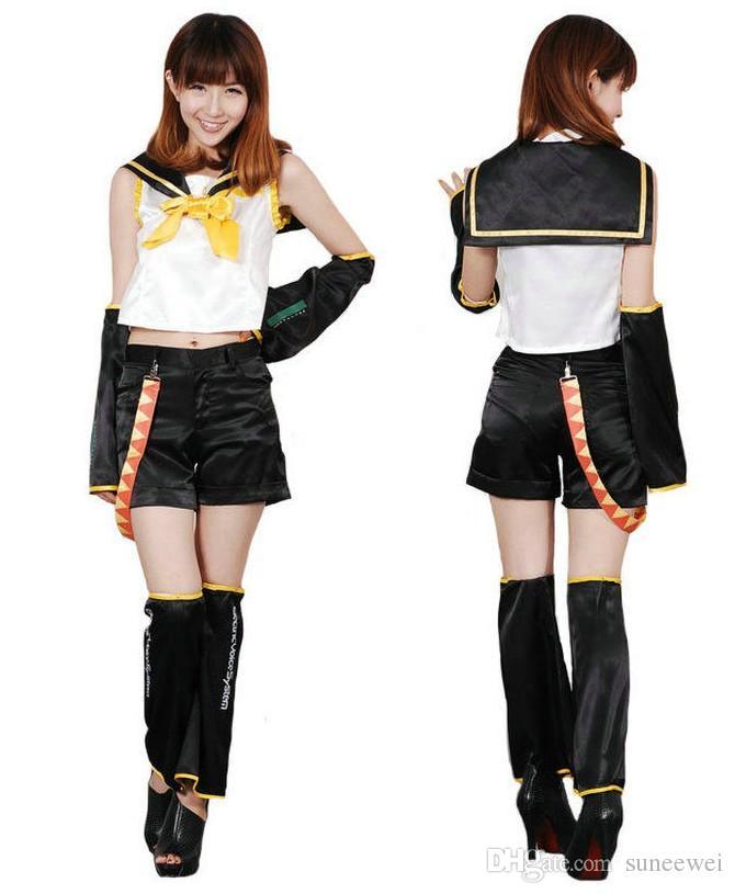 Vocaloid II Rin Kagamineコスプレコスチューム