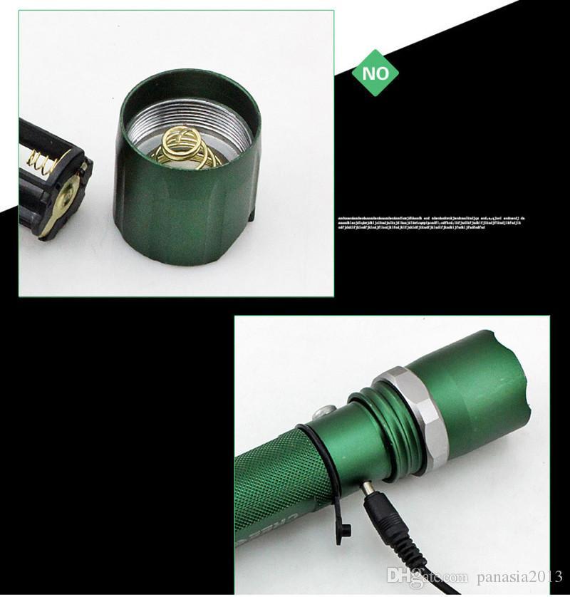Nouvelle Arrivée Autodéfense LED FlashLight Cree Q5 Flash Lumière Lampe Torche puissant Lanterne Tactique Lanterna D'urgence Lampe de poche défensive